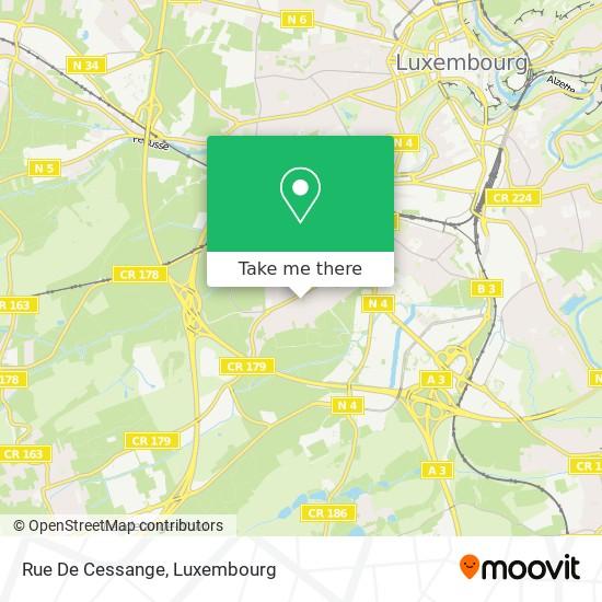 Rue De Cessange map