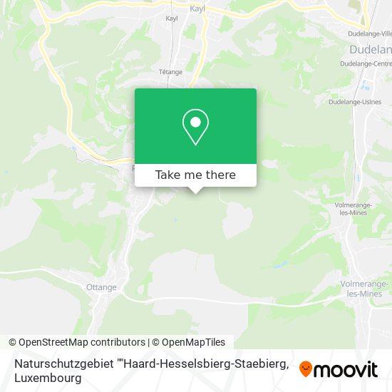 "Naturschutzgebiet ""Haard-Hesselsbierg-Staebierg map"