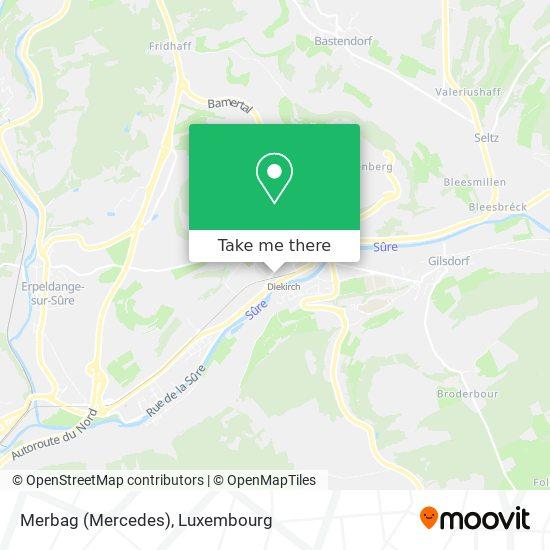 Garage Jean Wagner ( Mercedes) map