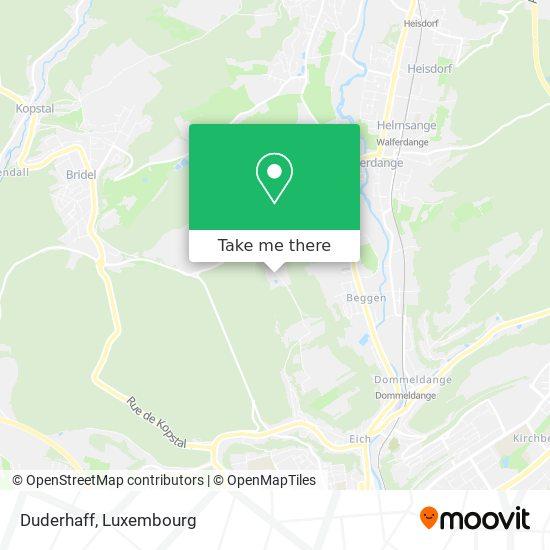 Duderhaff map