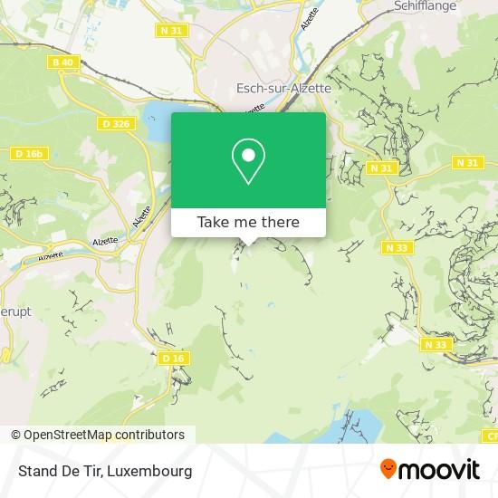 Stand De Tir map