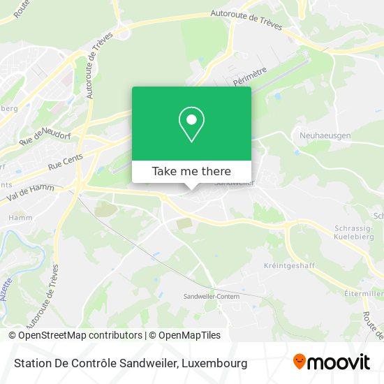 Contrôle Technique Sandweiler map
