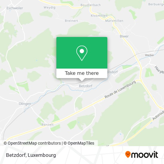 Betzdorf map