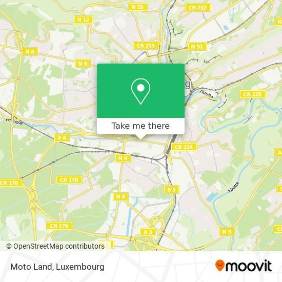 Moto Land map