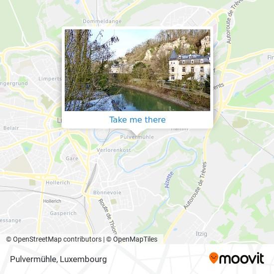 Pulvermühle map