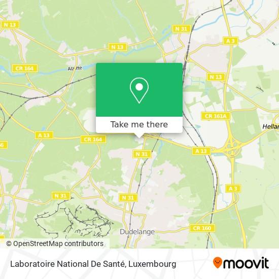 Laboratoire National De Santé map