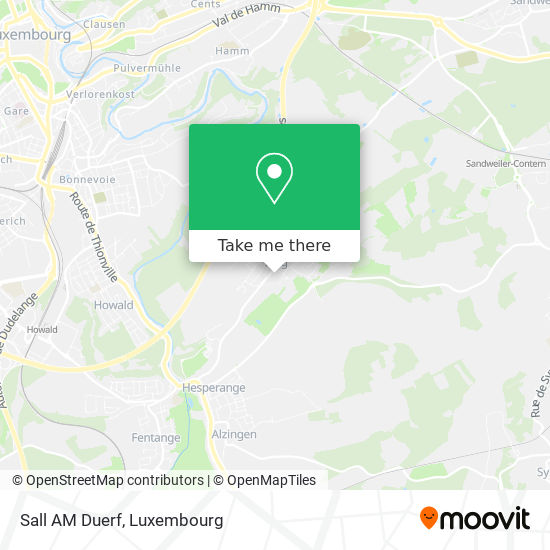 Salle Am Duerf map