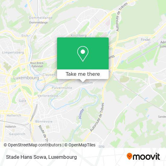 Stade Hans Sowa map