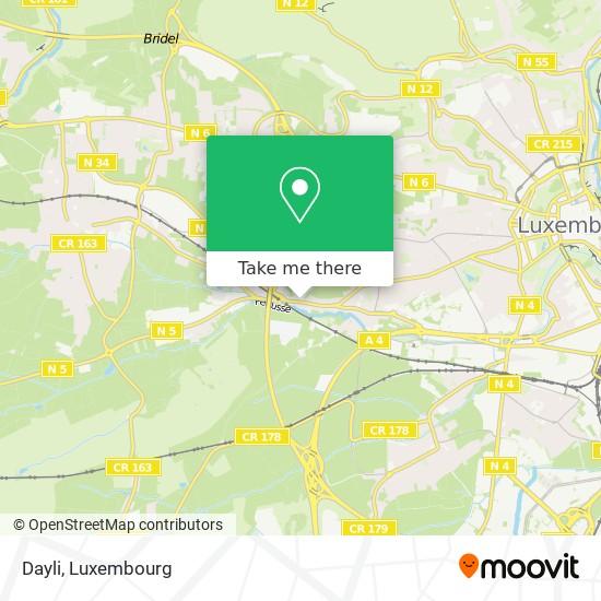 Dayli mapa