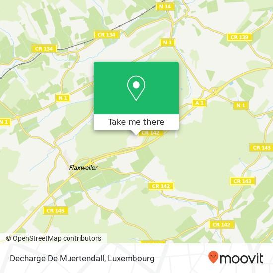 Decharge De Muertendall mapa
