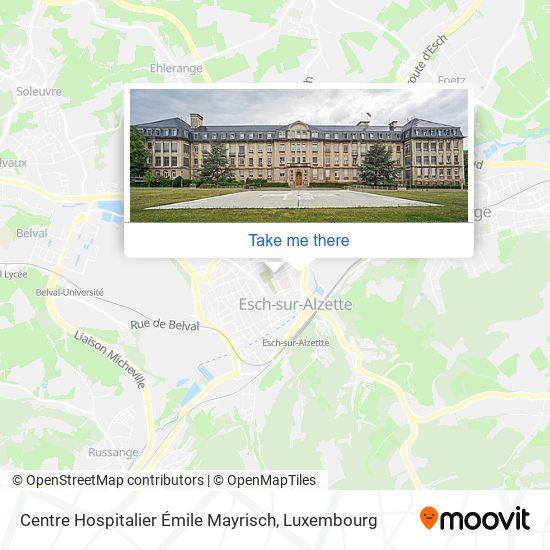 Centre Hospitalier Émile Mayrisch map
