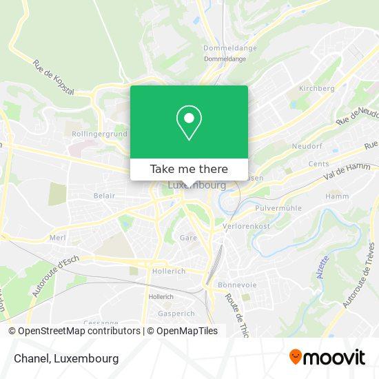 Chanel map