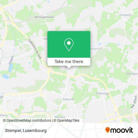 Stemper map