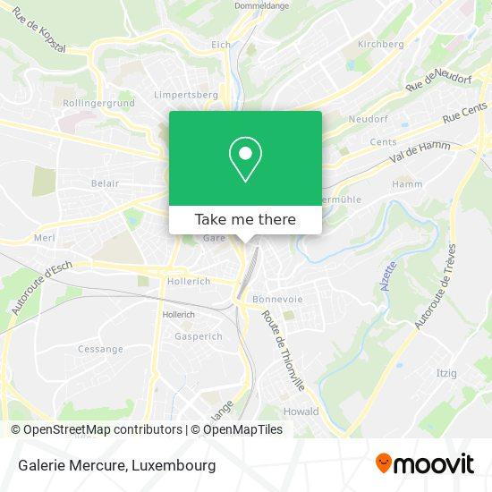 Galerie Mercure map