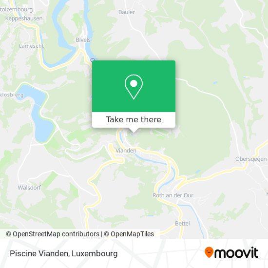 Piscine Vianden map