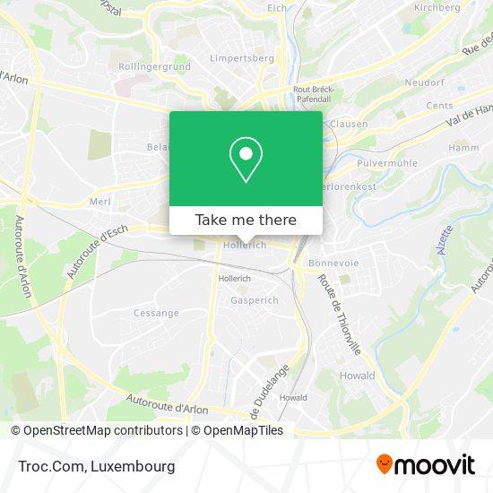 Troc.Com map