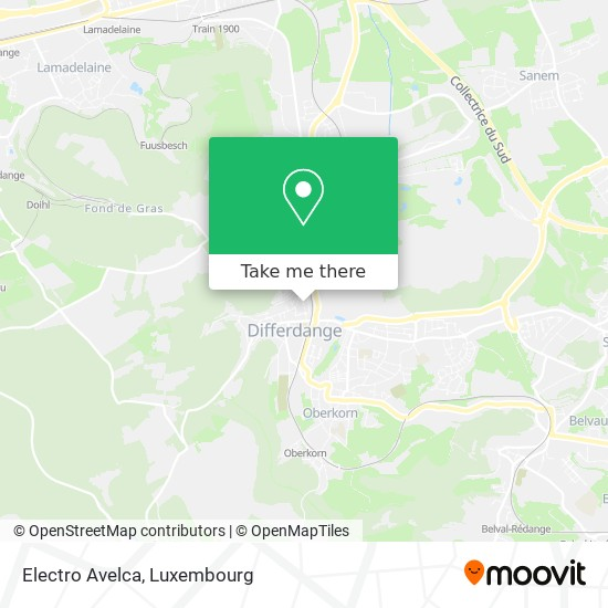 Electro Avelca map