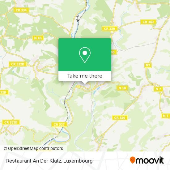 Restaurant An Der Klatz map