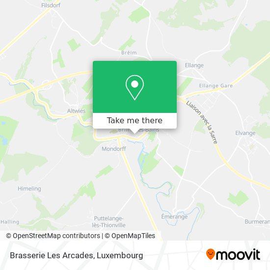 Brasserie Les Arcades map