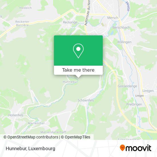 Hunnebuer map