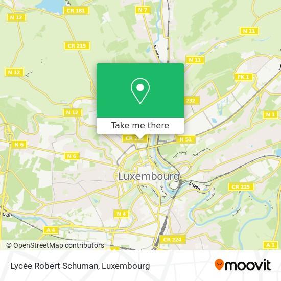 Lycée Robert Schuman map