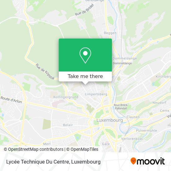 Lycée Technique Du Centre map