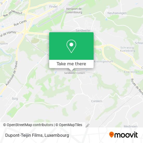 Dupont-Teijin Films map