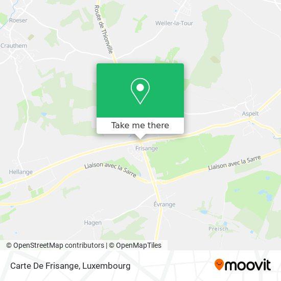 Carte De Frisange map