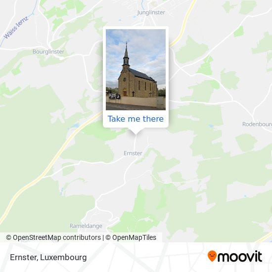 Ernster map