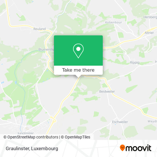 Graulinster map