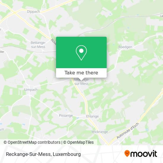 Reckange-Sur-Mess map