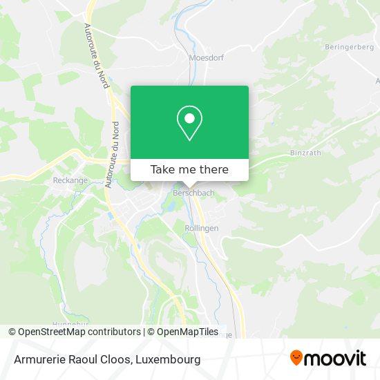 Armurerie Raoul Cloos map