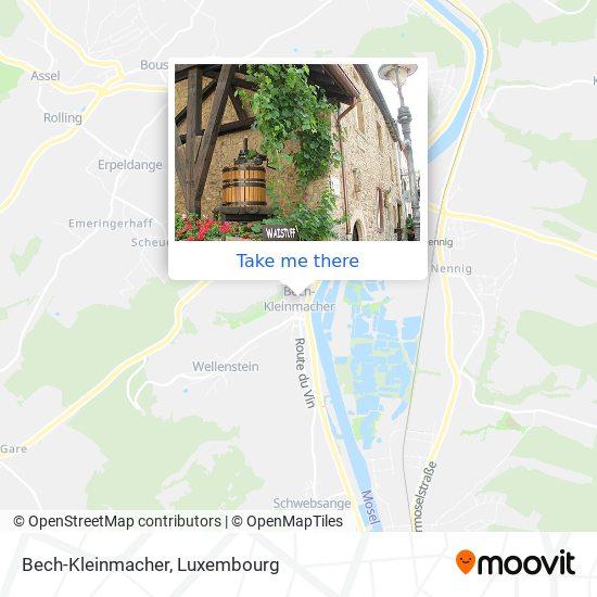 Bech-Kleinmacher map