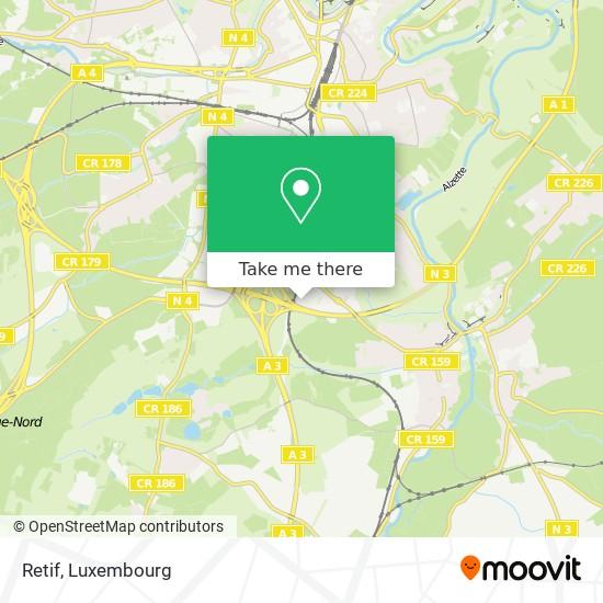 Retif map