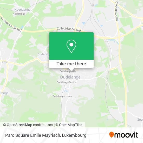 Square Émile Mayrisch map