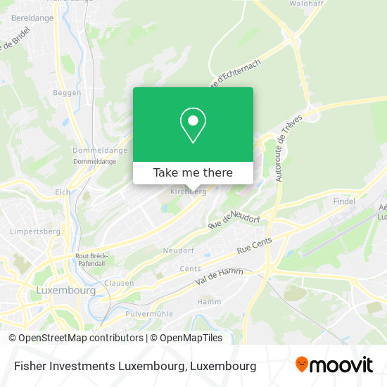 Fisher Investments Luxembourg map