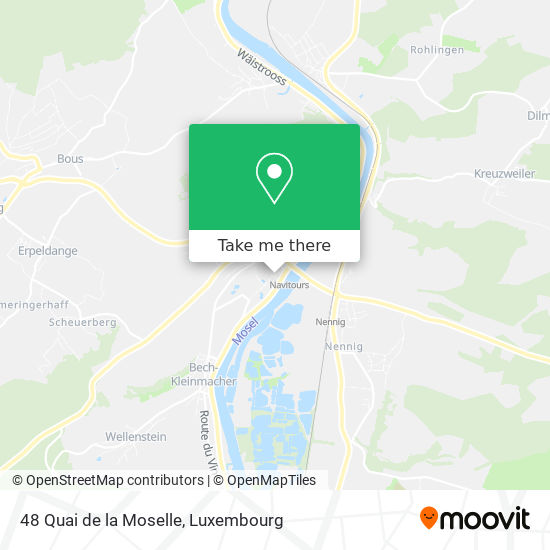 48 Quai de la Moselle map