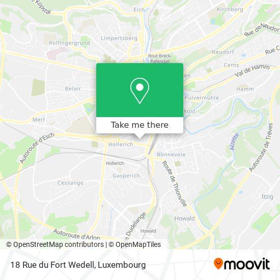 18 Rue du Fort Wedell map
