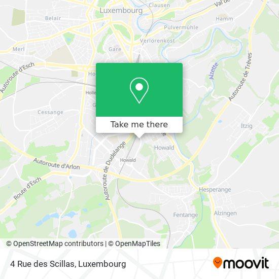 4 Rue des Scillas map