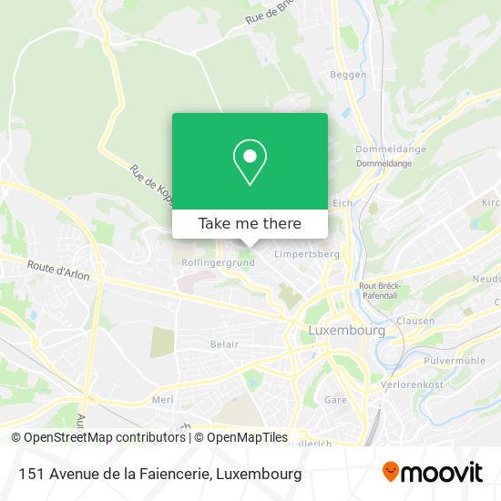 151 Avenue de la Faiencerie map