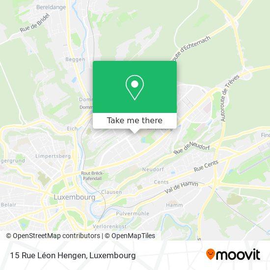 15 Rue Léon Hengen map