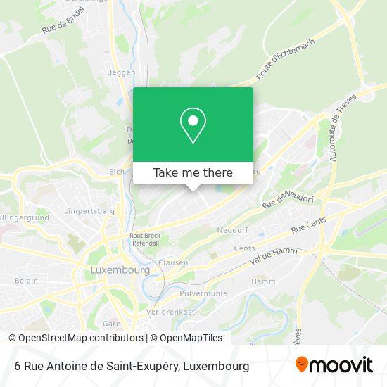 6 Rue Antoine de Saint-Exupéry map