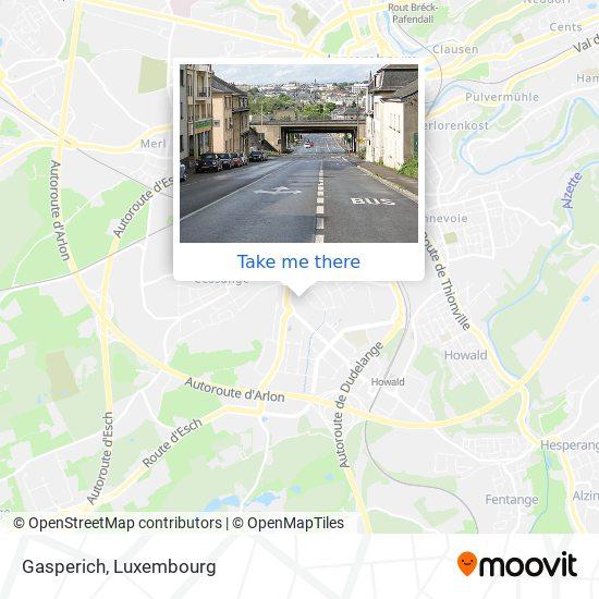 Gasperich map