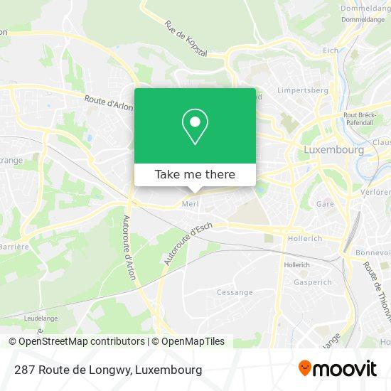 287 Route de Longwy map