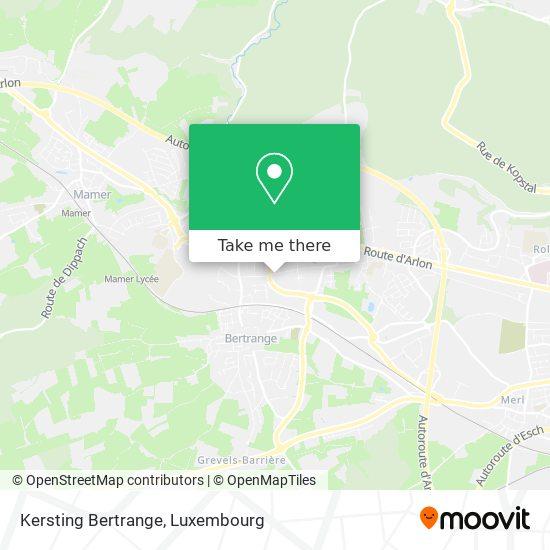 Kersting Bertrange map