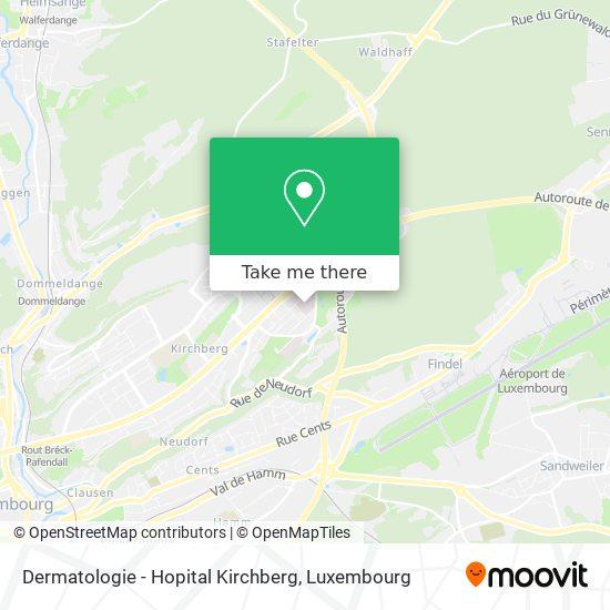 Dermatologie - Hopital Kirchberg map