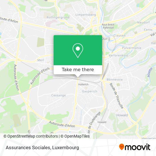 Assurances Sociales map