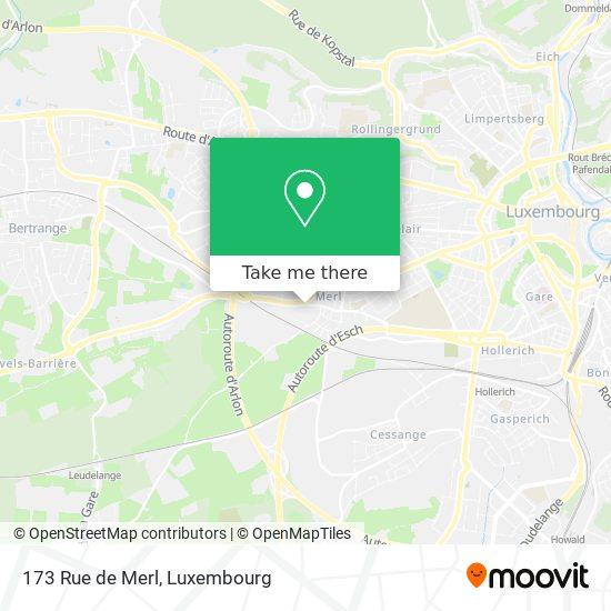 173 Rue de Merl map