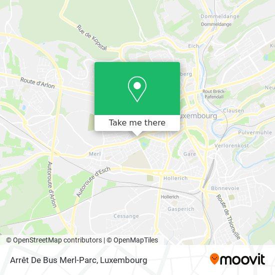 Arrêt De Bus Merl-Parc map