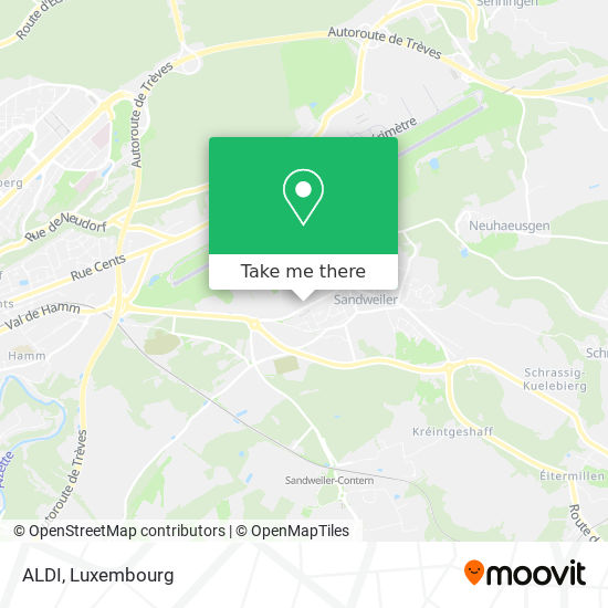 ALDI map